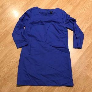 J. Crew Wool Mini Shift Dress